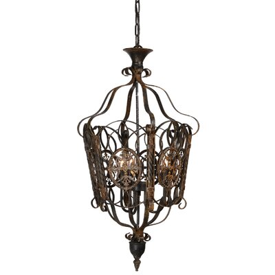 Kylie 3-Light Foyer Pendant