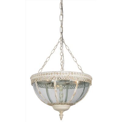 Thibault 3-Light Bowl Pendant