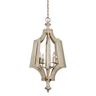 Brower 4-Light Foyer Pendant