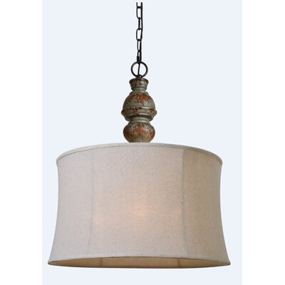 Custer 3-Light Drum Pendant