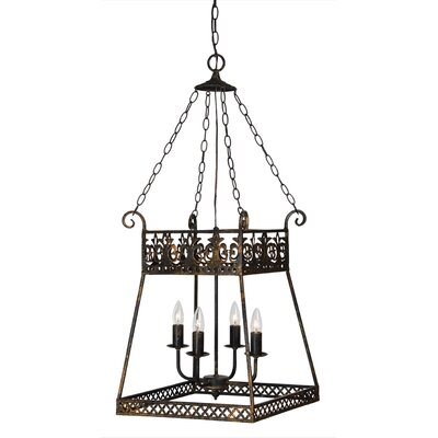 Curtis 4-Light Foyer Pendant