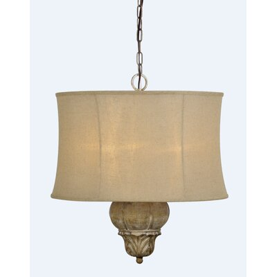 Hamilton 3-Light Drum Pendant