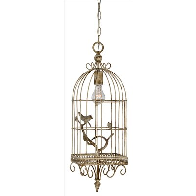 Small 1-Light Foyer Pendant
