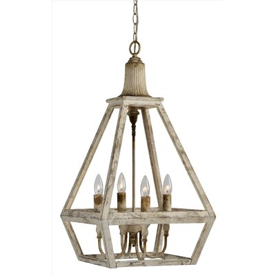Th�o 4-Light Foyer Pendant