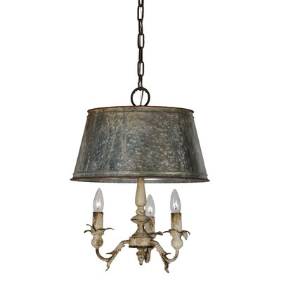 Pemberton 3-Light Candle-Style Chandelier