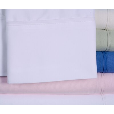 4 Piece Beauty Sleep Sheet Set Size: King, Color: White