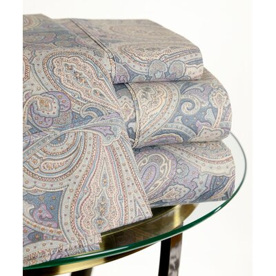 200 Thread Count Paisley Sheet Set Size: Queen