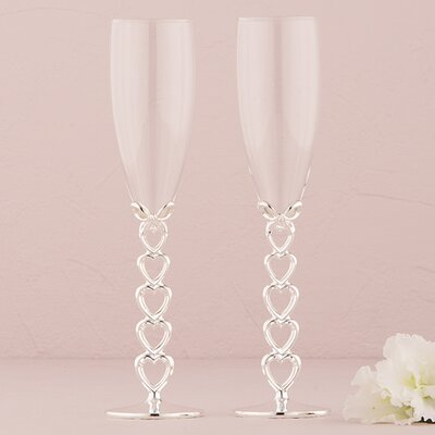 Wedding Toasting Flute Glass 8439