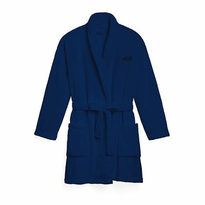 Navy Cozy Fleece Robe