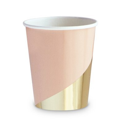 Colorblock Party Disposable Paper Cup T144-55