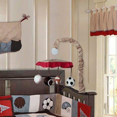 Babyfad Go Team 10 Piece Sports Crib Bedding Set