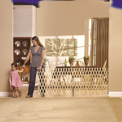 Keepsafe Wood Expansion Pet Gate Size: 32 H x 108 W x 2 D