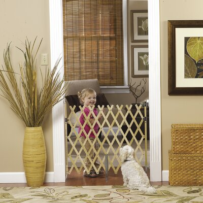 Keepsafe Wood Expansion Pet Gate Size: 32 H x 36 W x 2 D