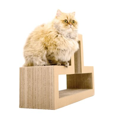 Katris Modular Cat Tree Color: Wood Maple