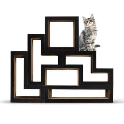 Katris Modular Cat Tree Color: Mono Black