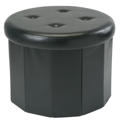 Hirsh Collapsible Storage Ottoman