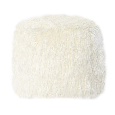 Filmore Pouf Upholstery: Ivory