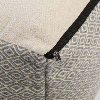 Pouf Upholstery: Grey