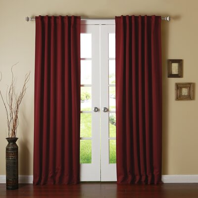 Best Home Fashion, Inc. Thermal Insulated Blackout Curtain Panel (Set of 2) - Size: 84