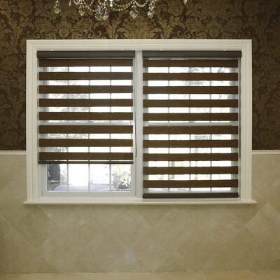Premium Wood Look Duo Window Roller Shade