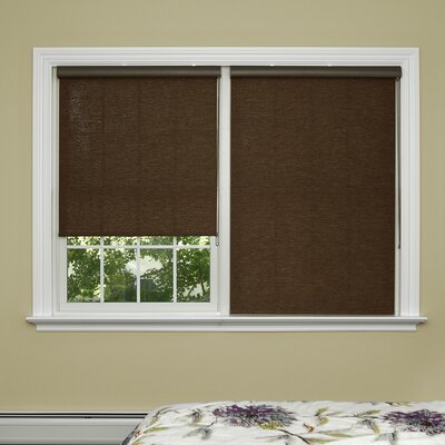 Sudbury Wood Look Window Roller Shade Best Home Fashion, Inc.