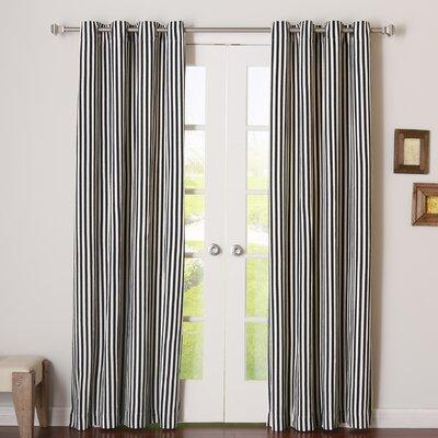 Herringbone Grommet Curtain Panels