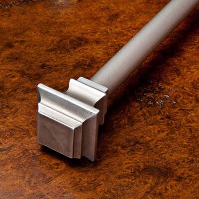 Hampton Curtain Rod Finish: Pewter