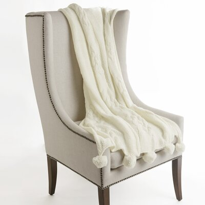 Beckford Throw Color: White