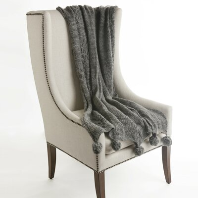 Beckford Throw Color: Gray