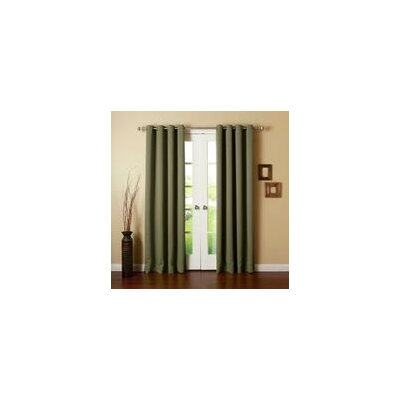 Best Home Fashion, Inc. Wide Width Thermal Single Curtain Panel - Size: 84