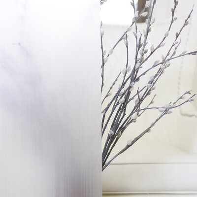 Non-Adhesive Privacy Window Film WINDOW-FILM-STRIPE