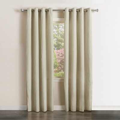Vertical Curtain Panels Size: 52 W x 96 L