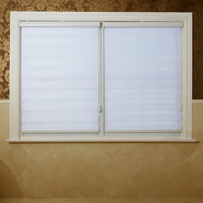 Premium Fabric Sheer Seven Star Duo Window Roller Shade Size: 64 L x 27 W