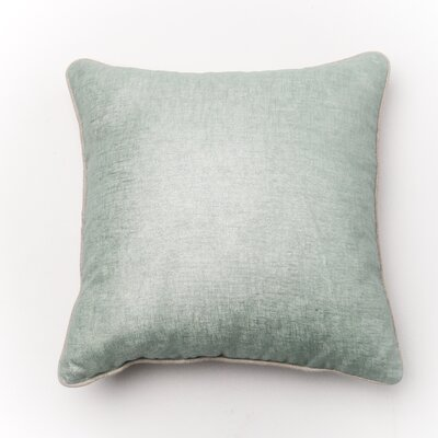 Throw Pillow Cover Color: Sky Blue