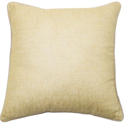 Throw Pillow Cover Color: Gold