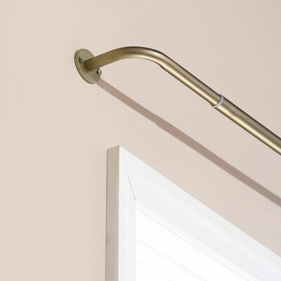 Perfect Wraparound Blackout Single Curtain Rod And Hardware Set