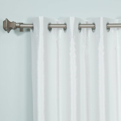 Colorblock Blackout Thermal Single Curtain Panel