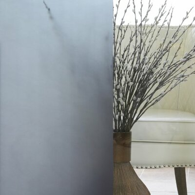 Non-Adhesive Privacy Window Film WINDOW-FILM-SMOKE