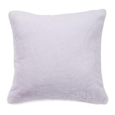 Ora Faux Pillow Cover Color: Lavender