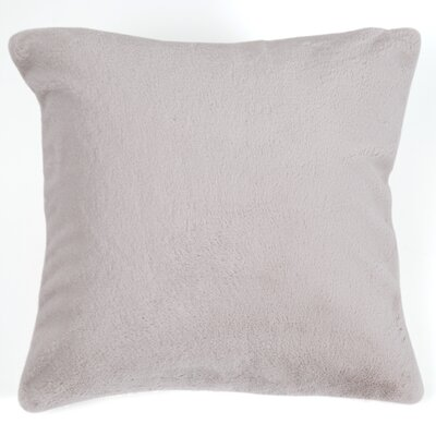 Ora Faux Pillow Cover Color: Taupe