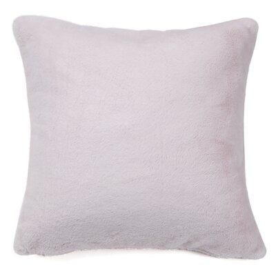Ora Faux Pillow Cover Color: Light Pink