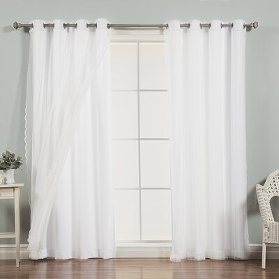 Mix & Match Zig Zag Sheer Curtain Panel