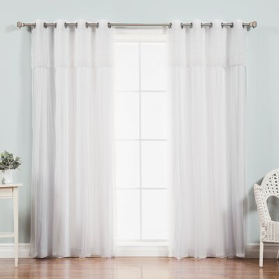 Mix & Match Dimanche Sheer Curtain Panel