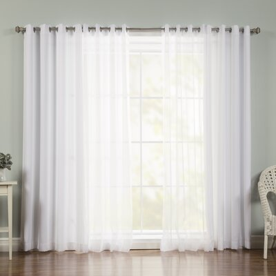 Mix & Match Voile Sheer Curtain Panel