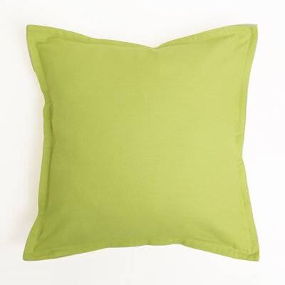 Vinci Canvas Two-Tone 100% Cotton Pillow Cover Color: Yellow/Green