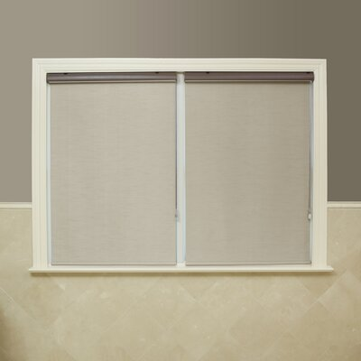 Premium Blackout Single Roller Shade Size: 36 W x 64 L, Color: Taupe