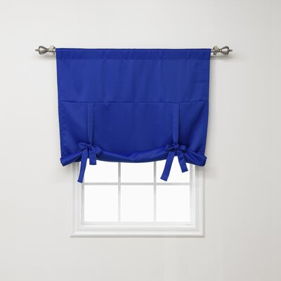 Blackout Tie-up Shade Color: Royal Blue