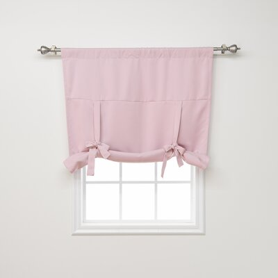 Blackout Tie-up Shade Color: Light Pink