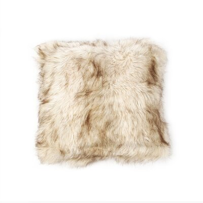 Billiter Luxury Long Throw Pillow Color: Champagne Fox