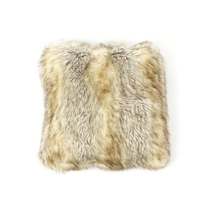 Luxury Long Throw Pillow Color: Kitt Fox